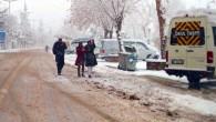Kar Yağışı Nedeni İle Okullar Tatil Edildi