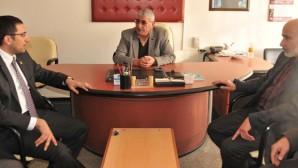 Akış, MHP İlçe Teşkilatı'na Taziye'de Bulundu