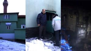 Cami Kalorifer Dairesinde Çıkan Yangın Korkuttu
