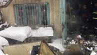 Kömür Deposunda Çıkan Yangın Korkuttu