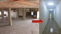 Virane Bina Artık Modern Bir Tesise Dönüştü