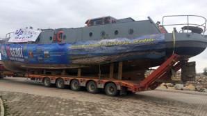 Savaş Gemisi Beyşehir'e Ulaştı