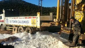 Göynem'in İçme Suyu Sorunu Çözülüyor
