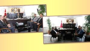 Hançerli ve İşbitirici'den Başkan Özaltun'a Ziyaret