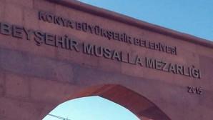 """Beyşehir'e """"Musalla Mezarlığı"""" Geliyor!"""