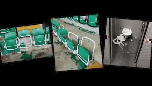 Antalyaspor Taraftarı Torku Arena Stadı'na Zarar Verdi