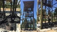 Orman İçerisinde Yer Alan Gözetleme Kulesi Kundaklandı