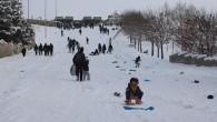 İlçede Kar Tatili Uzadıkça Uzuyor