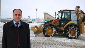 Beyşehir'de Son 10 Yılın Rekor Kar Yağışı
