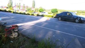Otomobilin Çarptığı Elektrikli Bisikletin Sürücüsü Öldü