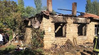 Emen'de Evde Çıkan Yangında Yaşlı Çift Hayatını Kaybetti