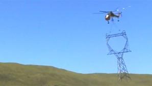 Dev Elektrik Direkleri Dağ Başına Nasıl Dikiliyor?
