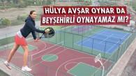 Beyşehir'de Gerçek Tenis Kortu Açıldı