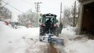 Rekor Kar Yağışında Kar Temizleme Çalışmaları