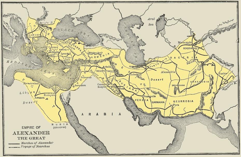 Büyük İskender - MÖ 356