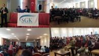 SGK İlçe Müdürlüğü'nden Üniversite Öğrencilerine Seminer