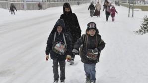 Beyşehir'de Okullar Tatil Edildi