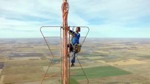 Ekmek Antenin Ucunda; 500 Metre Yükseklikte Tamir