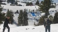 Kar Basma Şenliği Renkli Görüntülere Sahne Oldu