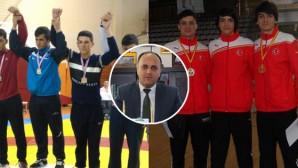 Başkan Özaltun'dan Sporculara Tebrik