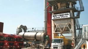 Beyşehir'e Asfalt Plenti Tesisi Yapılıyor
