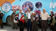 Beyşehir'de Mobil Giyim Bankası Kuruldu