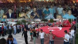 Beyşehir 7'den 70'e Terörü Lanetledi
