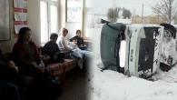 Beyşehir-Isparta Yolunda Yolcu Otobüsü Şarampole Devrildi