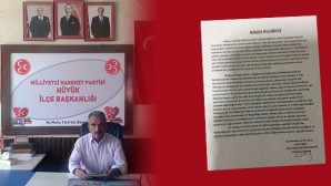 MHP Hüyük İlçe Teşkilatı İstifa Etti